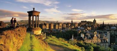 Motorhome Holiday in Edinburgh